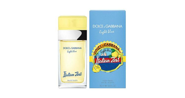 'Light Blue Italian Zest', la nueva fragancia femenina de Dolce & Gabbana
