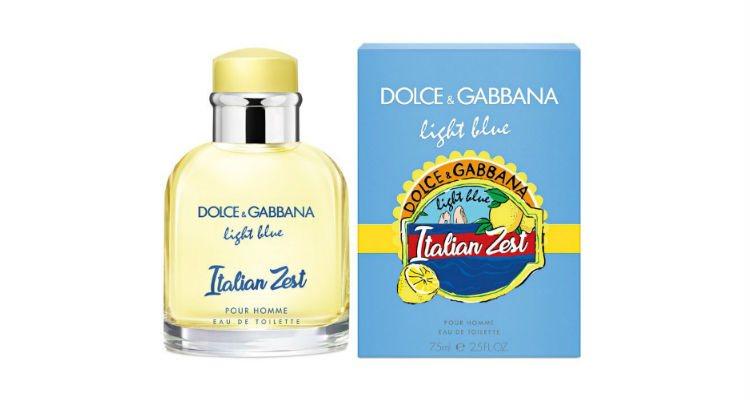 'Light Blue Italian Zest Pour Homme', la nueva fragancia masculina de D&G