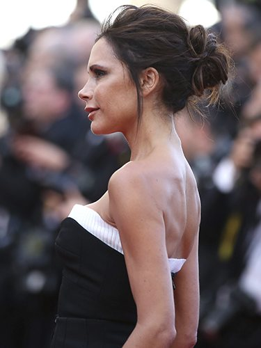 Victoria Beckham, en la proyección de la película