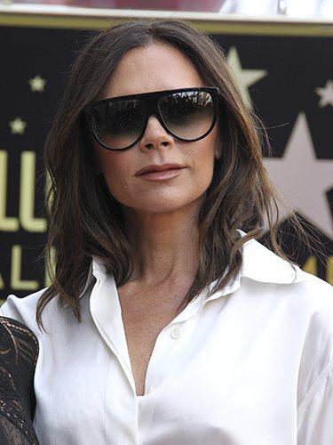 Victoria Beckham, en el paseo de la fama de Hollywood