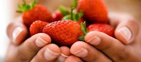 exfoliante casero de fresas
