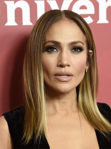 Jennifer Lopez, con una melena ultralisa