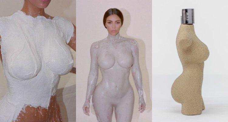 Imágenes del proceso de creación y campaña creativa del perfume 'KKW Body'