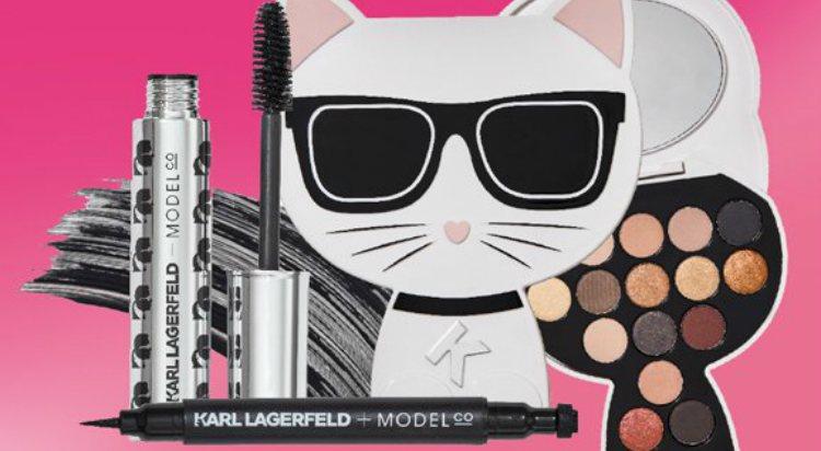 Los productos para ojos de la colección 'Karl Lagerfeld + ModelCo'