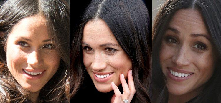Para completar el look Meghan Markle apuesta por algo sencillo y natural en los labios