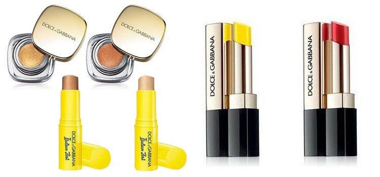 Algunos de los productos de la nueva colección, 'ItalianZest' de Dolce&Gabbana