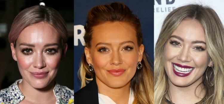 Unas pestañas largas y voluminosas protagonizan todos los looks de Hilary Duff