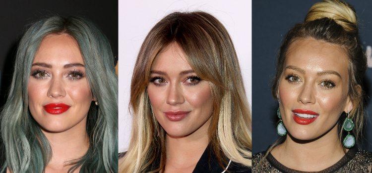 Hidratación y mucho colorete, estos son los imprescindibles para la piel de Hilary Duff