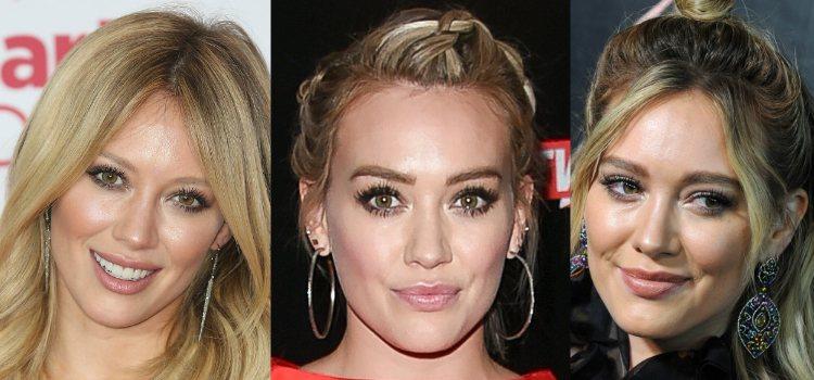 Hilary Duff equilibra su look optando por labiales nude