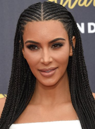 Kim Kardashian, en los MTV Movie & TV Awards 2018