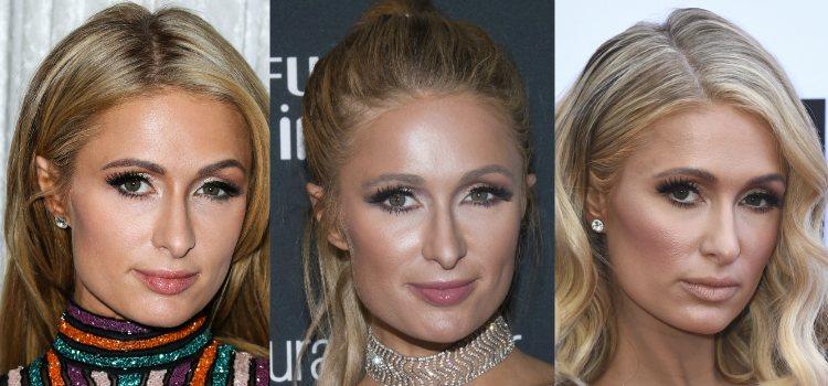 Para definir el rostro Paris Hilton apuesta por el contouring