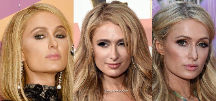El gloss de labios da luz a los maquillajes de Paris Hilton