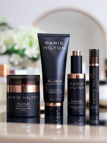 La colección 'ProD.N.A. Skincare by Paris Hilton'