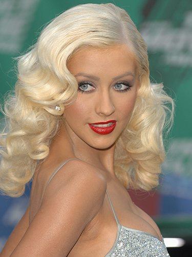Christina Aguilera, durante los Premios MTV Movie 2006