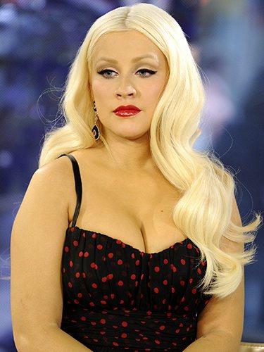 Christina Aguilera, en el programa