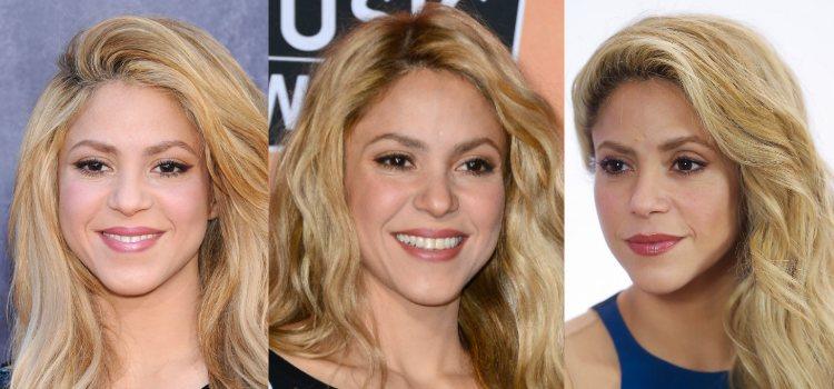 Para maquillar los ojos Shakira apuesta por un delineado sutil en tonos marrones