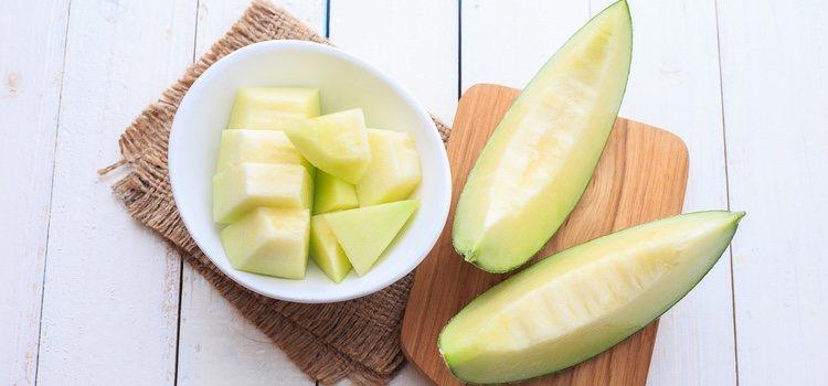 Gracias a las propiedades del melón nuestra piel se mantiene hidratada