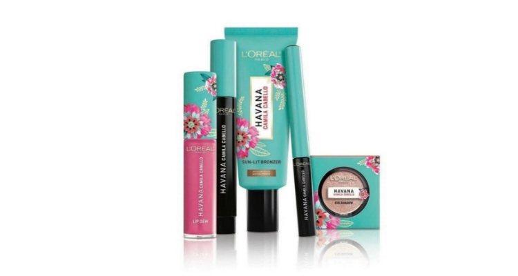 'Havana', la colección de maquillaje de L'Oréal en colaboración con Camila Cabello