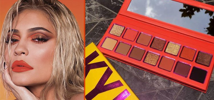 Presentación de la nueva paleta de Kylie Jenner Cosmetics