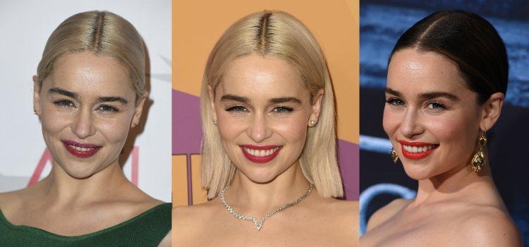 Emilia Clarke luce unas cejas gruesas y naturales
