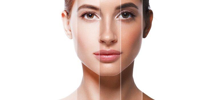 Escoge unos polvos bronceadores que sean 2 o 3 tonos más oscuros que tu piel para que queden naturales