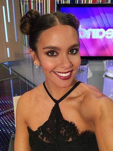 Cristina Pedroche, en el plató de 'Zapeando'