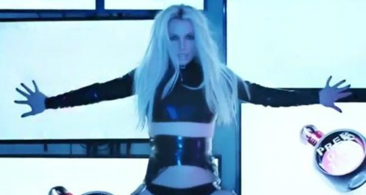 Britney Spears en una imagen de la campaña de su perfume 'Prerogative'