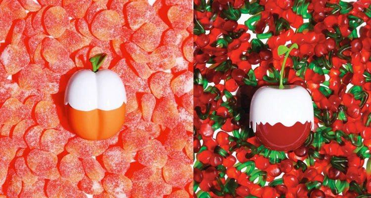 Los perfumes 'Kimoji Peach' y 'Kimoji Cherry' | Instagram @kkwfragrances
