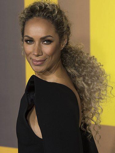Leona Lewis, en la premiere de