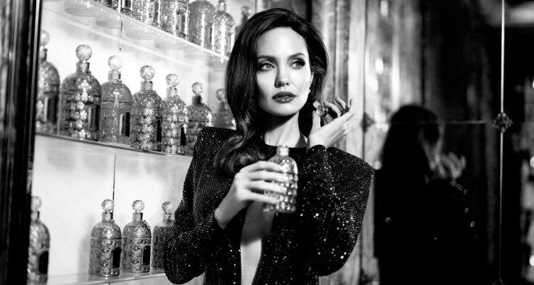 La actriz Angelina Jolie es la embajadora de la línea 'Mon Guerlain'