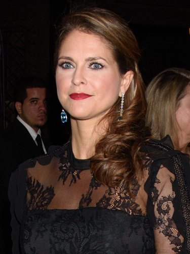 Magdalena de Suecia con un beauty look de gala en Nueva York