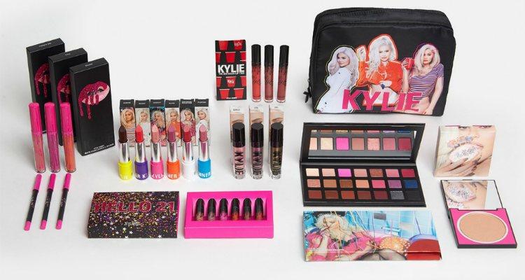 Los productos de la 'Limited Edition Birthday Collection' de Kylie Cosmetics