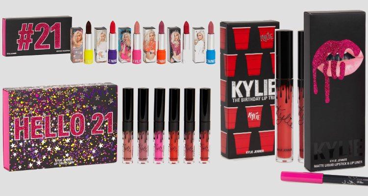 Los labiales de la 'Limited Edition Birthday Collection' de Kylie Cosmetics