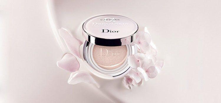 Base de maquillaje en formato cushion, de la nueva línea 'Dreamskin' de Dior