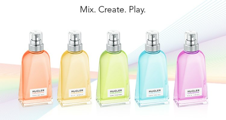 Las cinco nuevas fragancias de 'The Rainbow Collection' de Mugler
