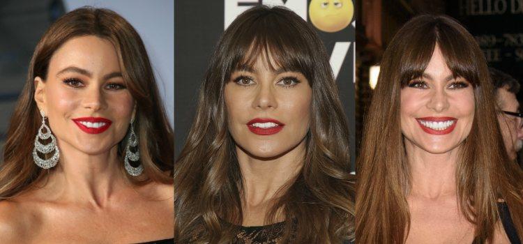 Los labios rojos son uno de los imprescindibles en los maquillajes de Sofía Vergara