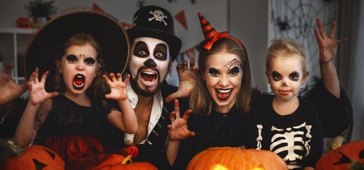 Existen multitud de posibilidades a la hora de disfrazarse para Halloween