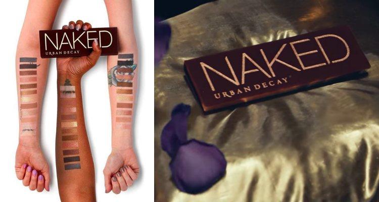 Urban Decay decide retirar la versión original de la paleta de sombras de ojos 'Naked'
