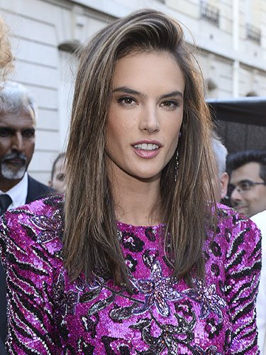 Alessandra Ambrosio en la Paris Fashion Week
