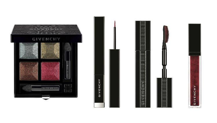 La paleta eyeshadow, el eyeliner y la máscara de 'Midnight Skies' de Givenchy