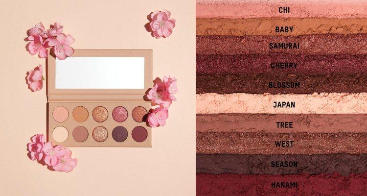 La paleta de sombras de ojos de la colección 'Classic Blossom' de KKW Beauty