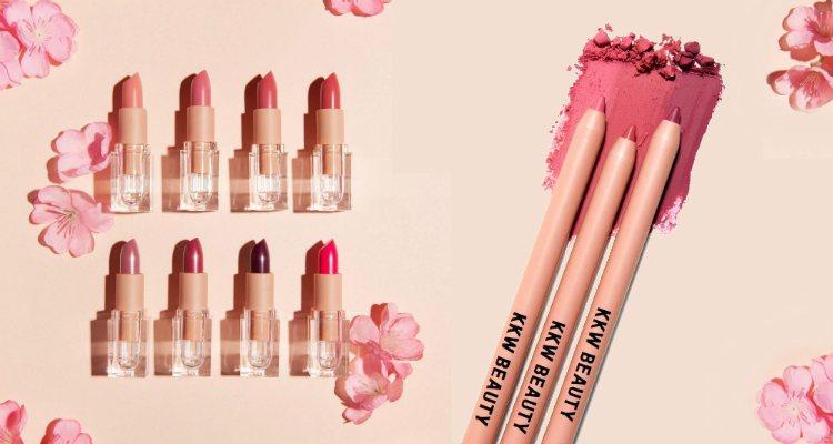 Los labiales de la colección 'Classic Blossom' de KKW Beauty