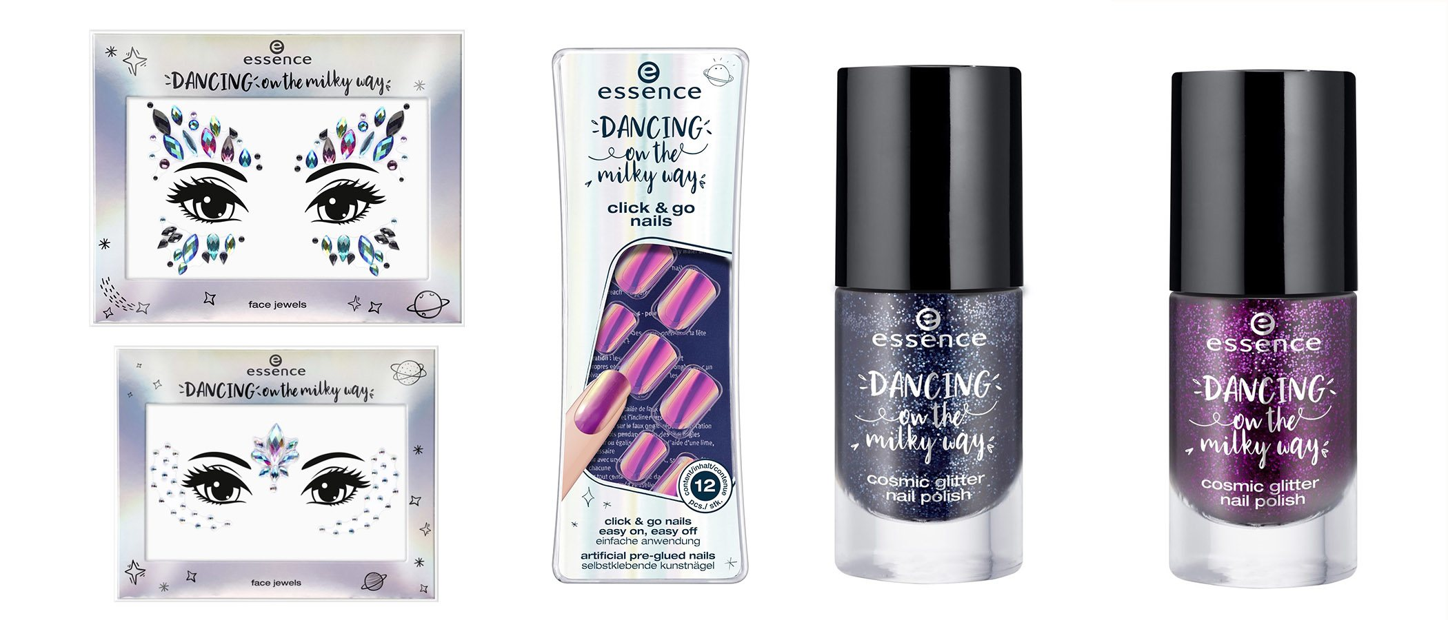 Productos de la nueva colección 'Dancing on the mily way' de Essence