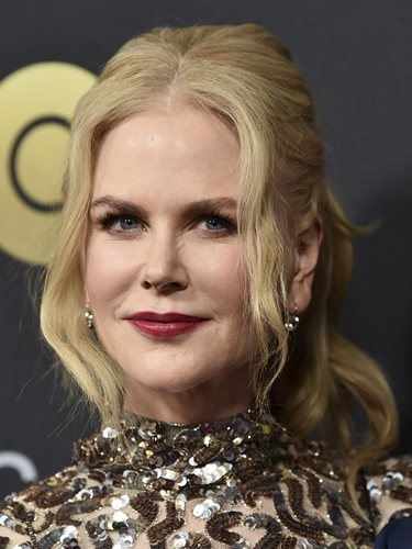 La actriz Nicole Kidman, con coleta alta
