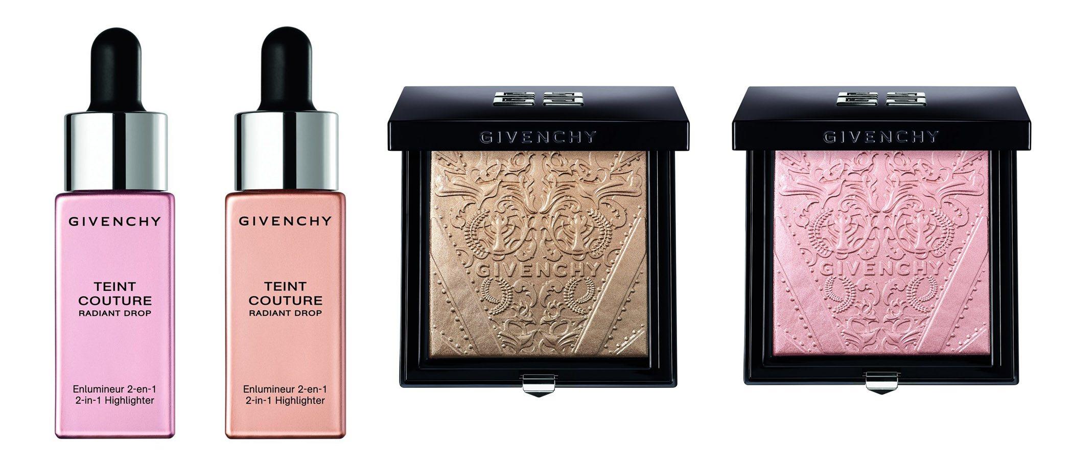 Nuevos iluminadores de la línea de belleza de la firma Givenchy