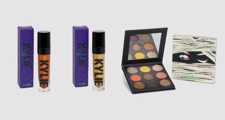 Las sombras en crema y la paleta eyeshadow de la colección Halloween 2018 de Kylie Cosmetics