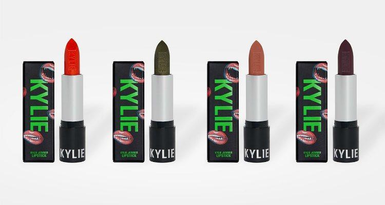 Las barras de labios de la colección Halloween 2018 de Kylie Cosmetics