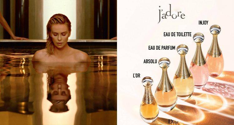 Charlize Theron es imagen de las distintas ediciones 'J'Adore' desde 2004