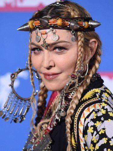 Madonna, en los Premios MTV Video Music 2018