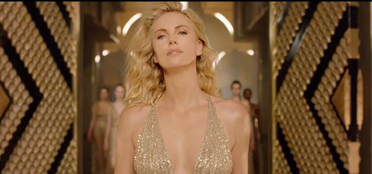 Fragmento de la nueva campaña de Dior junto a Charlize Theron
